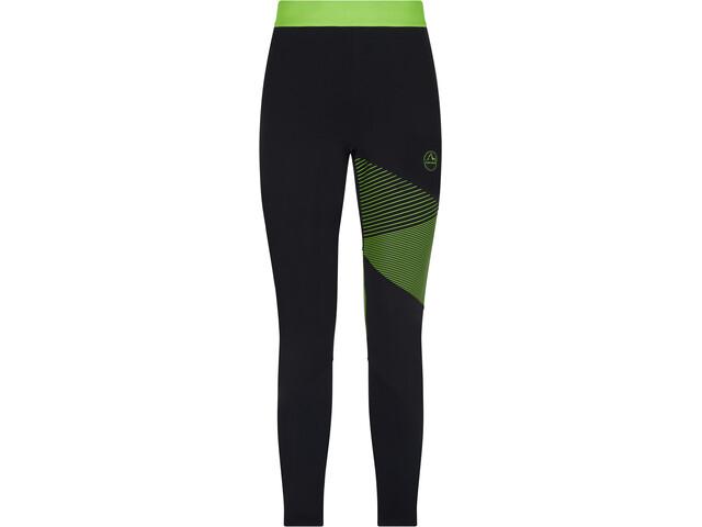 La Sportiva Radial Pantalones Hombre, negro/verde